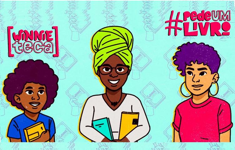 #DoeUmLivro incentiva doação de livros a pessoas negras